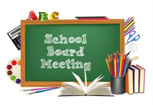 February School Board Meeting Change