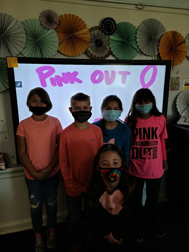 4th grade Pink Out Drugs