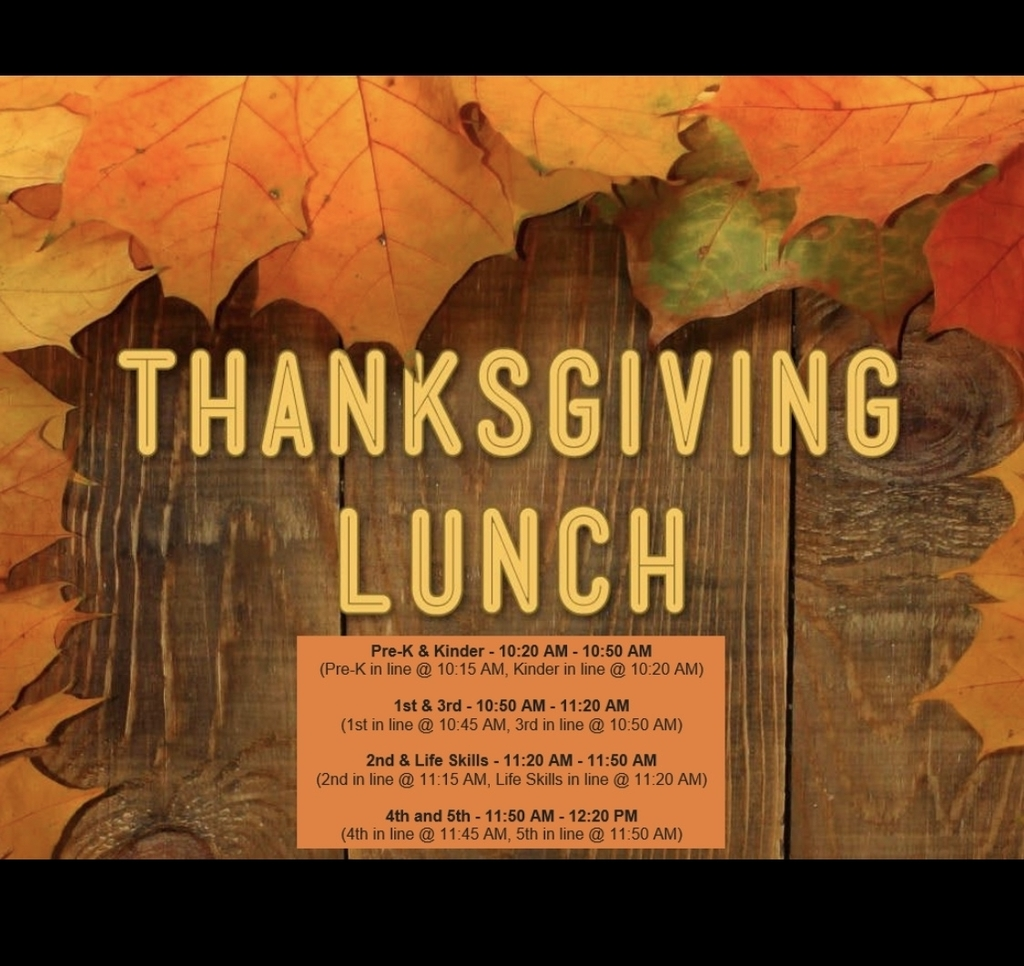 Thanksgiving Lunch 11/21/2019.
