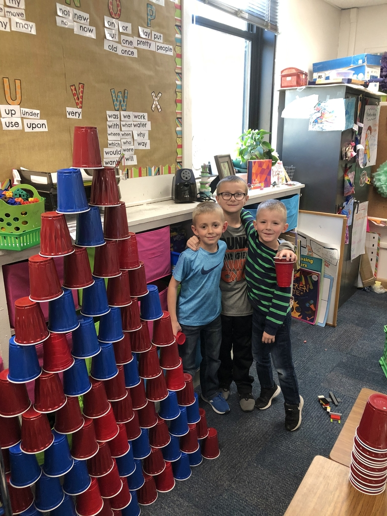 Building with 100 cups